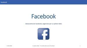 Formation Facebook @ La sphère Web - Cyrille DUBOIS